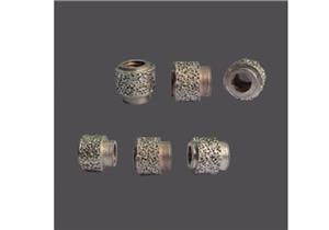 Electroplated diamond bead