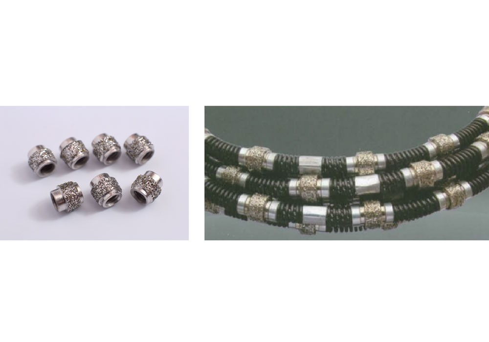Eletroplated diamond bead & wire Manufacturers, Eletroplated diamond bead & wire Factory, Supply Eletroplated diamond bead & wire