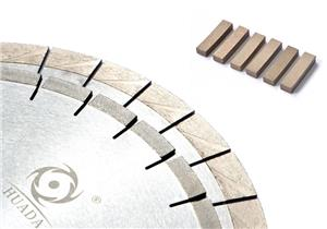 Arix diamond saw blade and segment