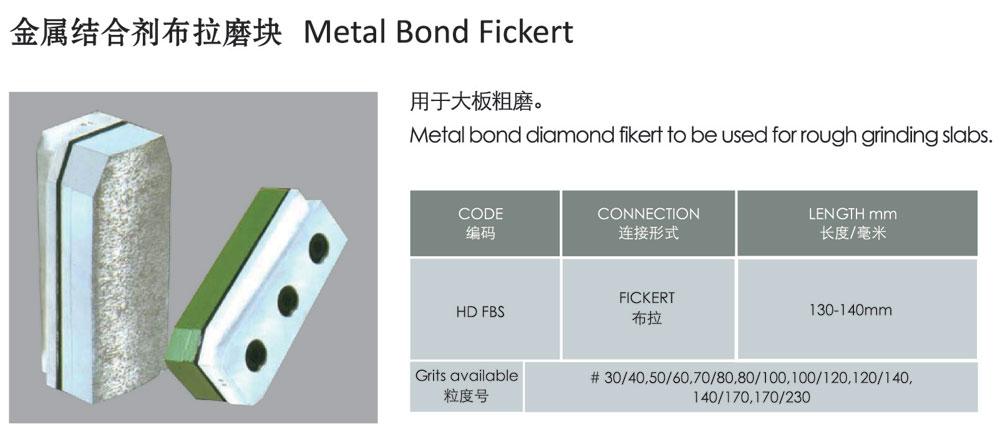 Metal Bond Fickert