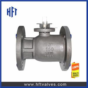 Uni-body Flange Ball Valve