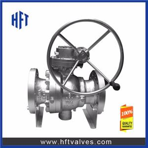 High Pressure Trunnion Mounted Ball Valve