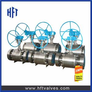 Low Temperature Trunnion Mounted Ball Valve