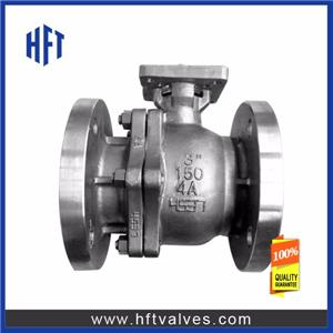 F51 Duplex Steel Trunnion Mounted Ball Valve