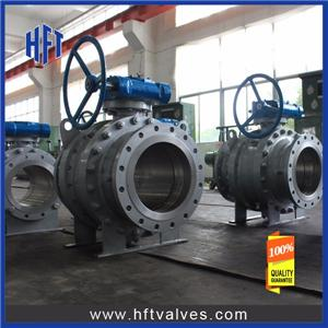 Gear Operated Trunnion Mounted Ball Valve
