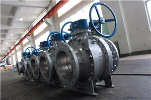 16 inch trunnion mounted ball valves