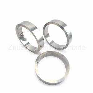 Wear resistance tungsten carbide seal ring for valve industry mechanical sealing