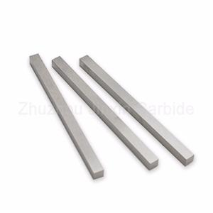 Tungsten carbide wear resistant strips