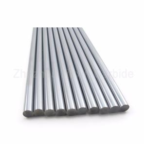 tungsten carbide rods with one straight hole
