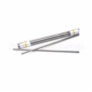 Durable tungsten carbide round rod for process steel