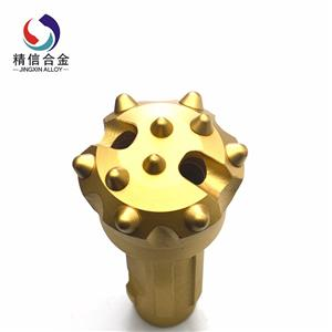 Tungsten carbide DTH drill bit for mining or drilling tools
