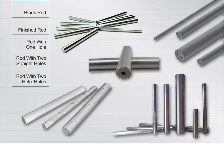custom tungsten round rod