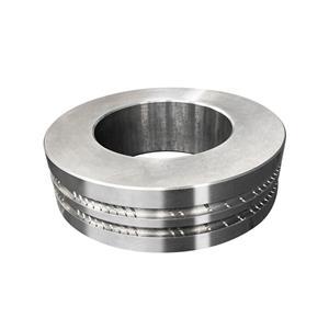 Wear resistant tungsten carbide roller ring