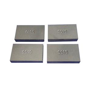 Rectangular Shape YG8 / YG8C Tungsten Carbide SS10 Tips For Stone Cutting