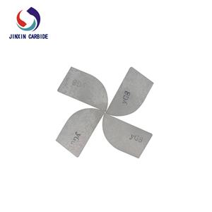 YG11C YG6 grade Type A A12 Tungsten Carbide Cutting Tips Brazed Tip