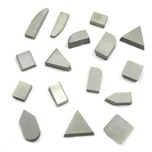 Customized YG6 brazed tips tungsten carbide tool parts