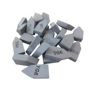 YG6 tungsten carbide brazed tips carbide saw tips