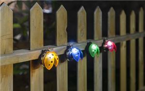 Led ladybug solar lights