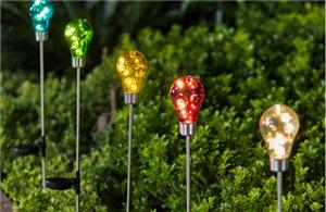 Decorative bulb solar lights