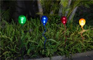 Led balloon solar lights