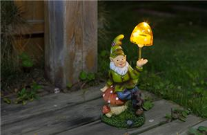 Interesting gnomes solar lights