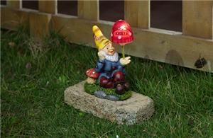 Individualization gnomes solar lights