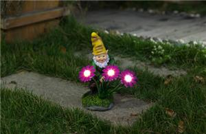 Decorative gnomes solar lights