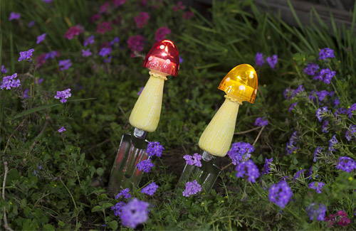Small Mushroom Solar Lights