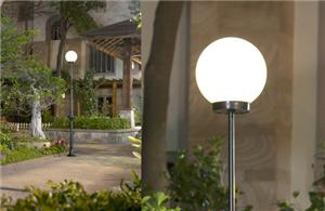 Spherical Solar Yard Light