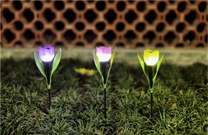 Flower Solar Garden Lights