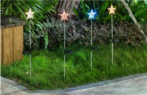 Five-pointed Star Solar Light Stake
