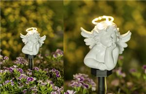Figurine solar lights