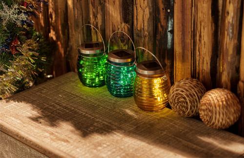 Solar jar light bulb