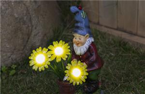 Mini gnomes solar lights