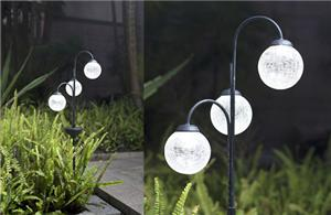 Spherical Solar Light Stake