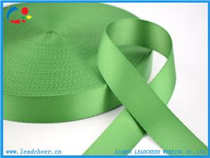 Green Color Hot-Sell Customized Flat Nylon Webbing for Bags