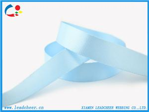 Eco-Friendly Factory Nylon Ribbon Light Blue Garment Accessories