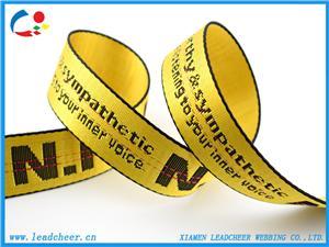 Heavy Tenacity Nylon Ribbon with customized Logo