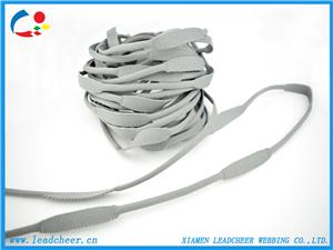 Decoration Variable width strap for bag or garment