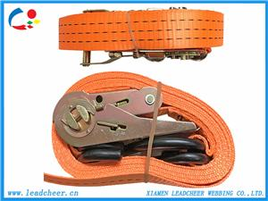Durable Heavy Duty Ratchet Strap for Truck Cargo Load