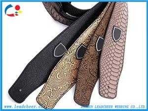 High-End Superior Quality Luxurious PU Leather Guitar Belt