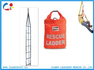 High visibility strength emergency safety rescue ladders