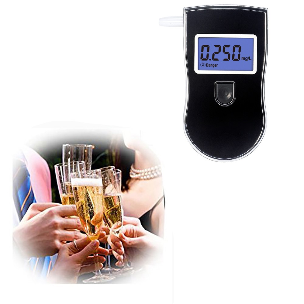 Audible alert breathalyzer