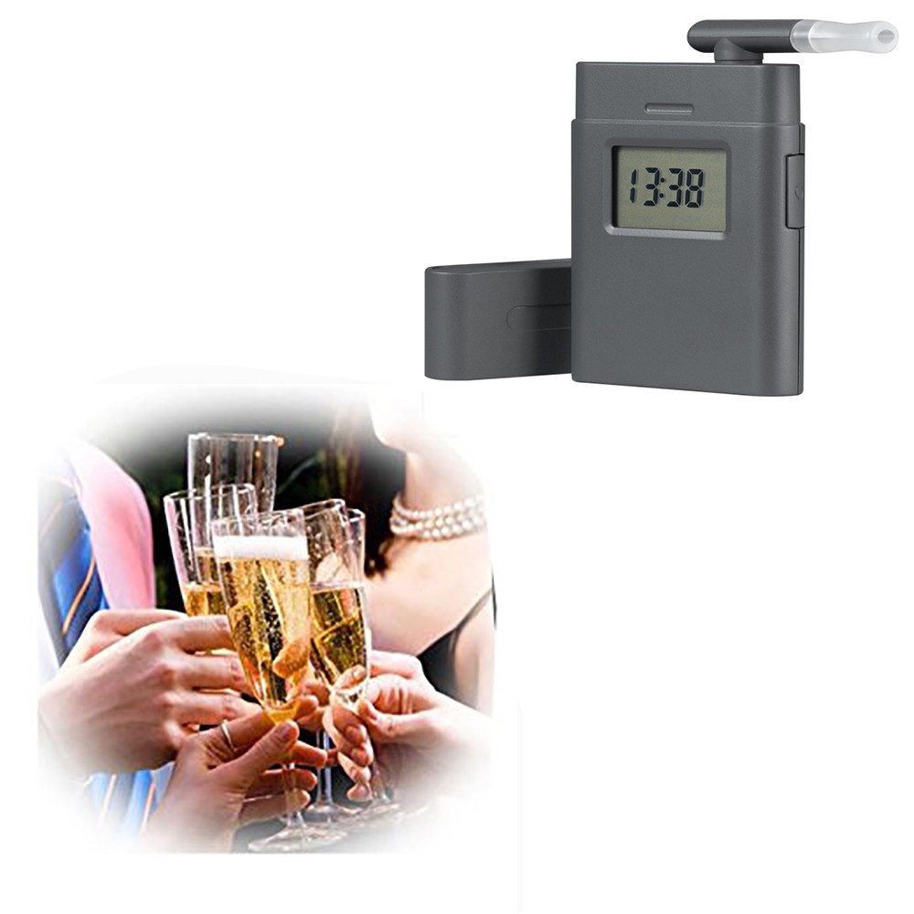 Digital breath alcohol tester