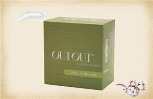 Fruit essential oil comfort brand name sanitary pad—Glory girl