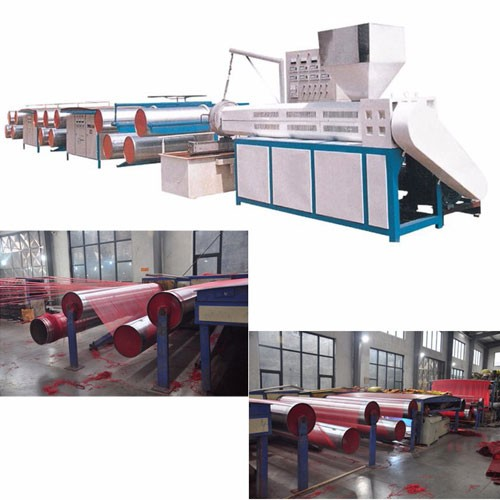 High Speed PP and PE Extruding Machine