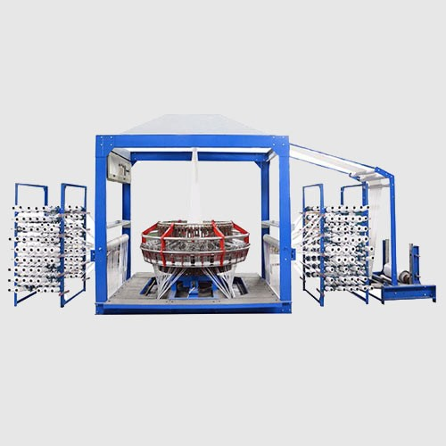 4 Shuttles Woven Bag Circular Loom Machine