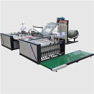 High Speed PP Woven Bag Cutting Sewing Machine