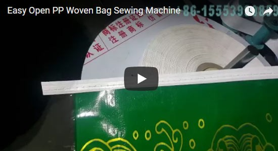 Easy Open PP Woven Bag Sewing Machine