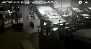 Automatic PP Woven Bag Cutting Machine